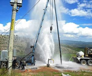 Perforación pozo de agua