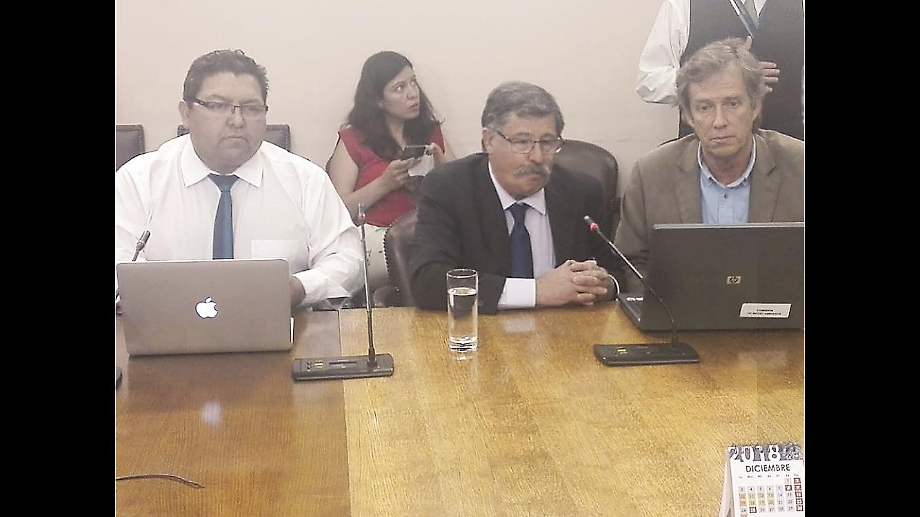 """19/12/18 Sociedad de  Aguas del Pacífico SpA expuso ante la comisión de """"Recursos Hídricos y Desertificación"""""""