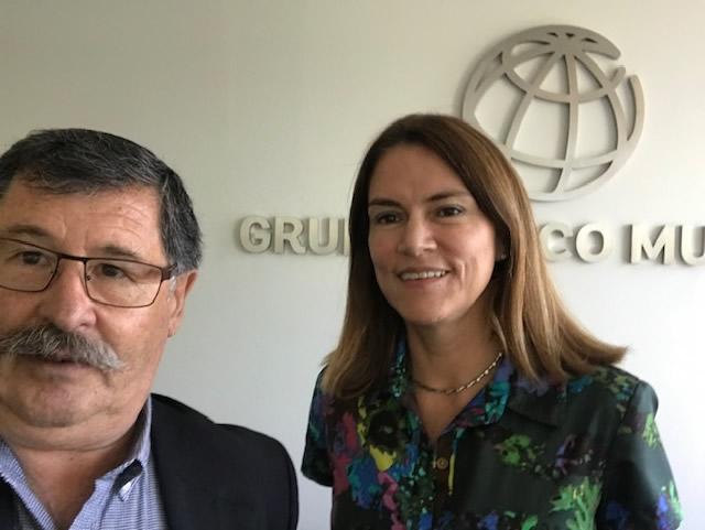 Cita con el IFC Banco Mundial Aguas del Pacìfico IAG