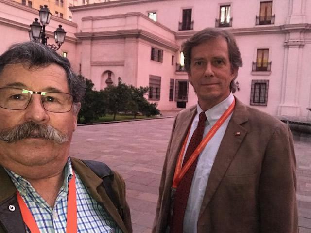 Reunión con el ministro de desarrollo social, Señor Alfredo Moreno Charme