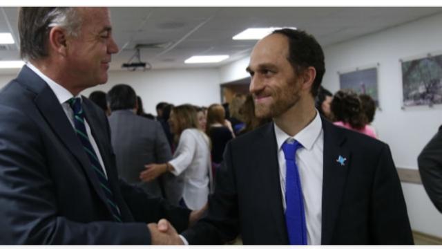 Reunión con el secretario ejecutivo de la Comisión Nacional de Riego, señor Federico Errázuriz Tagle