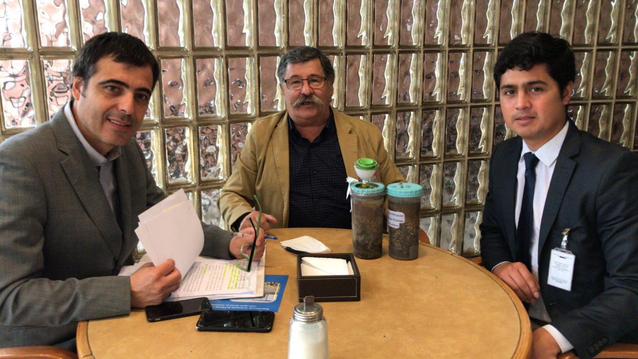 Reunión con los diputados Alvarez y Pardo,diciembre 2019